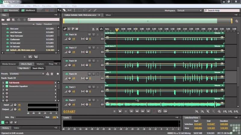 Vừa tiện lợi, đa năng mà còn dễ dàng sử dụng với Adobe Audition