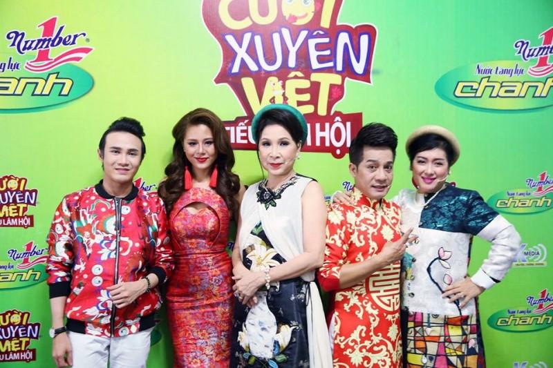Các giám khảo trong chương trình Cười xuyên Việt