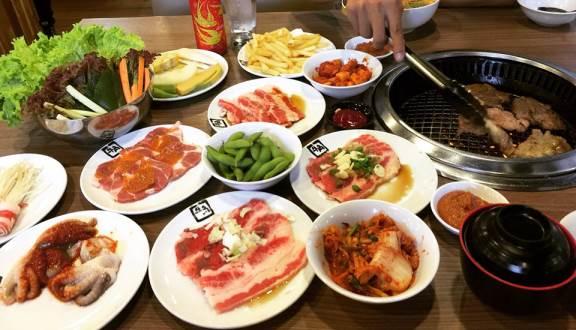 Buffet nướng Gyu-kaku