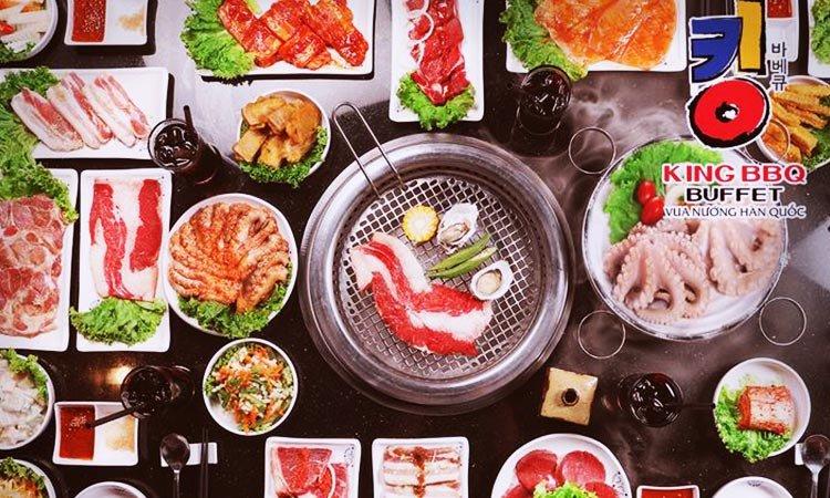Buffet nướng King BBQ - Vua nướng Hàn Quốc
