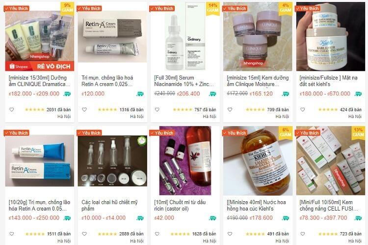 Shop Mỹ phẩm SHARE/FULL âu-mỹ trên Shopee