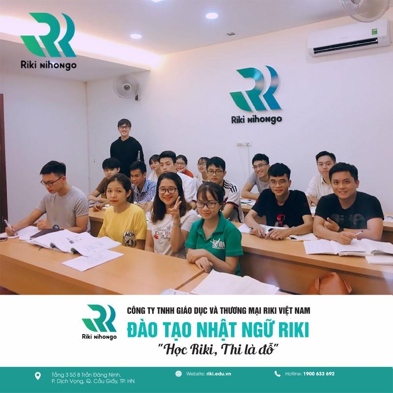 Một lớp học tại Riki gồm 15-20 học viên, đảm bảo sensei quan tâm được tất cả học viên của lớp mình