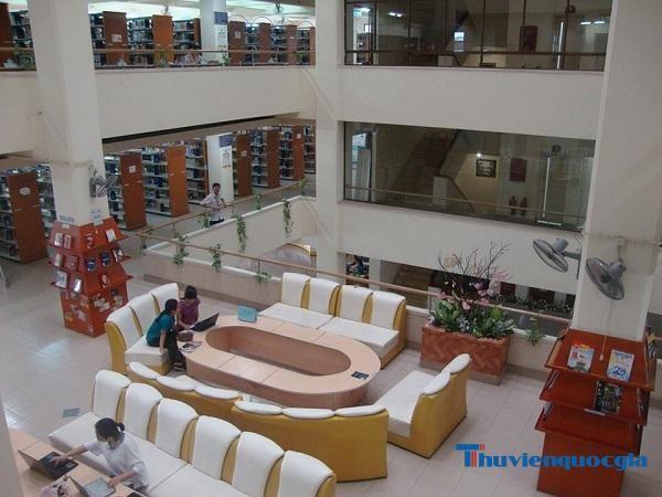 Thư viện trung tâm thuộc Đại học Quốc gia TP. HCM