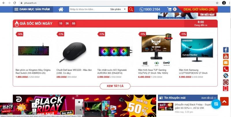 Website Phucanh.vn